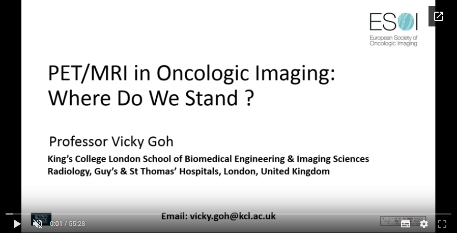 PET-MRI in oncologic imaging – where do we stand? (2017)