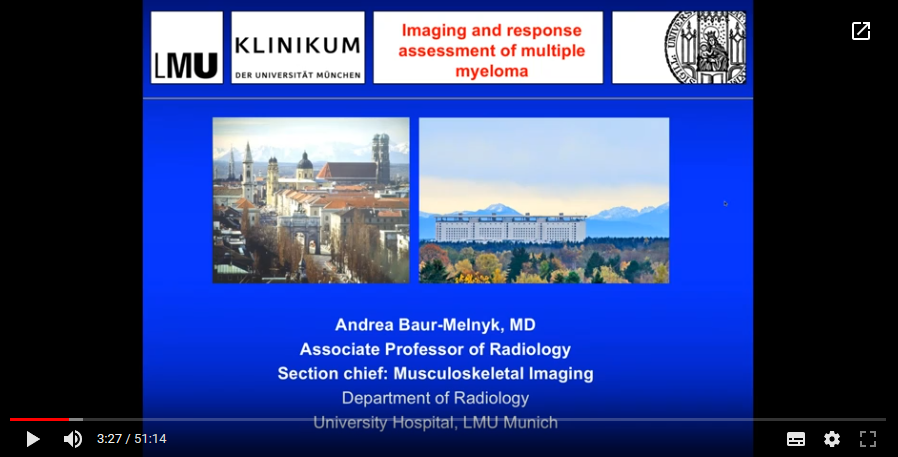Imaging and response assessment of multiple myeloma (2019)