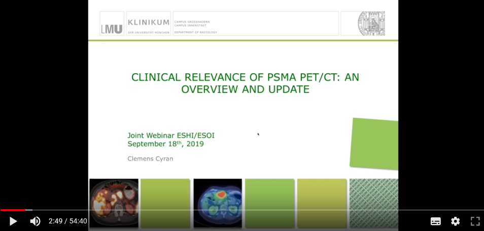 Clinical relevance of PSMA PET/CT: An overview and update (2019)