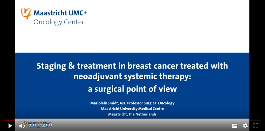 Breast cancer: A multidisciplinary approach to imaging in neoadjuvant treatment (2019)